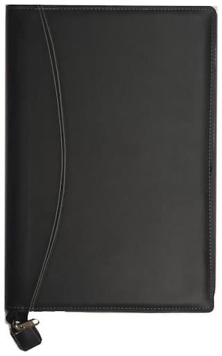 Kittu b4 size executive document bag black colour 20 inner leafs