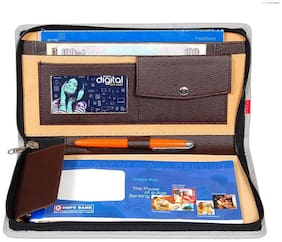 Kittu cheque book holder and passbook holder portfolio look set of 1