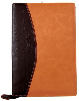 Kittu Leatherette Material Professional Files And Folders, Certificate, Documents Holder (20 Leafs, Size - B4)