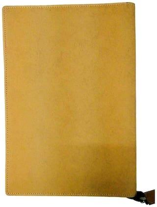 Kittu New B4 Size Royal Jeans Materiel File folder (Set Of 1;Sky blue;Brown) 20 inner leafs