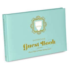 Knock Knock Guest Book - Bathroom *Housewarming Gift