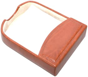 Knott Exclusive Faux Leather Brown Slip Holder