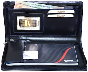 Knott Executive Black Cheque book holder