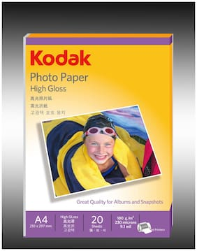 Kodak Photo Paper High Gloss