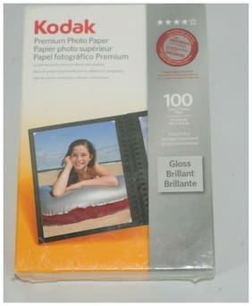 "Kodak Premium Photo Paper 100 4"" x 6"" Gloss Instant Dry - New in Package"