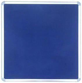 Kohinoor Pin Up Notice Board 61 x 61 cm Blue