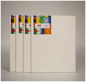 Kreationery Canvas Board 8 * 10 Inches Pack of 4