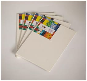 Kreationery Canvas Board 6 * 8 Inches Pack of 4