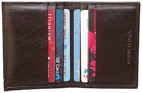 Kyathat Leather Atm card holder - Black , 5
