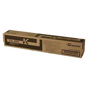 Kyocera Black Toner Cartridge, 12000 Yield (TK-899K)