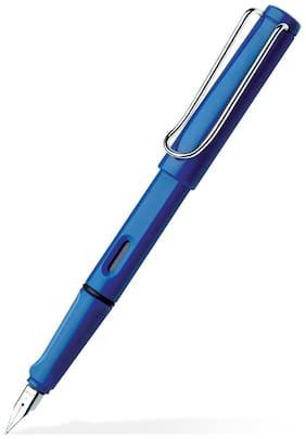 Lamy 14 Safari Blue Medium Fountain Pen