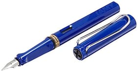 Lamy 14 Safari Blue Fine Fountain Pen