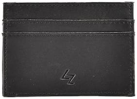LEATHER EFFECT FAUX LEATHER CARD-HOLDER
