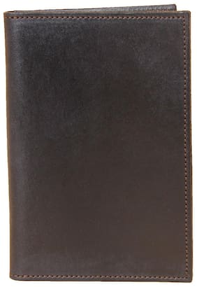 Leather Pocket Journal Refillable Ruled Composition Notebook Black USA Made No23