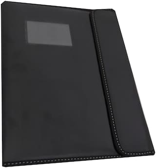 Leather Professional Files and Folders, Certificate, Documents Holder (20 Sleeves) to Store A4 and Legal Size Documents