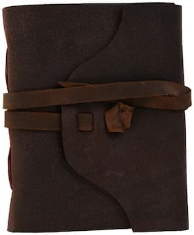 Leather With Flap Notebook