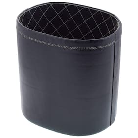 Leatherman Leather Waste paper Box in Black