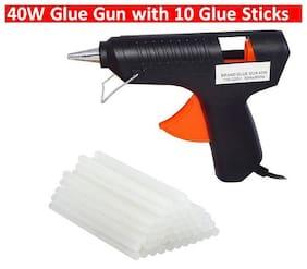 """Leavess"" 40 W Hot Glue Gun with 10 Glue Sticks For DIY/Crafts"