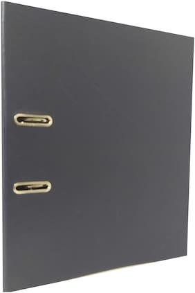 Hello Perfect Lever Arch Box File for Documentation, 24 x 5 x 25 cm (Pack of 4)