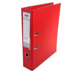 Lever Arch File (Pack Of 2) - Red
