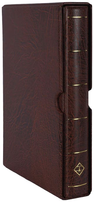 Lighthouse Ringbinder Vario F - Incl. Slipcase - Brown  by Ultra Mintage World