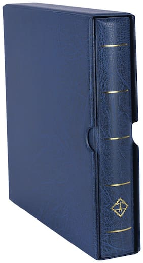 Lighthouse  Ringbinder Optima F - Incl. Slipcase - Blue  by Ultra Mintage World