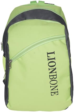 LIONBONE 24 ltrs School bag - Green & Grey