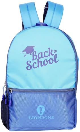 LIONBONE 32 ltrs School bag - Blue