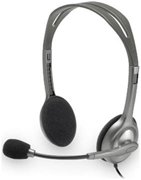 Logitech H111 Wired Gaming Headset (Black)