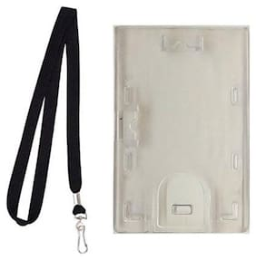 Lovex I.D. Card Plastic Retractable Holder and Lanyard