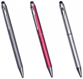 Luxantra Premium Ball Pen With Stylus (Pack Of 3)