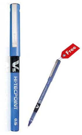 Luxor Pilot V5 (Blue) Set of 12 Pens
