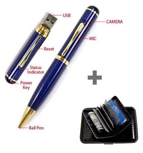 M3 ProTeck Video Camera Pen with Free Card Holder