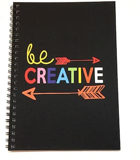 MACRO Be Creative A5 Unruled Spiral Notebook