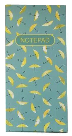 MACRO Blue Umbrella Designer Notepad