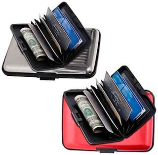 Magpie Business Aluminum Card Holder Set of 2 (Assorted color)