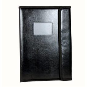 Magpie Collections Faux Leather File Folder With Magnetic Button