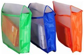 Magpie Collections Flexi Document case with Jumbo Capacity Set of 3 (Assorted color )