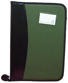 Magpie Faux Leather B4 Executive File Folder Double Colour (Assorted Color)
