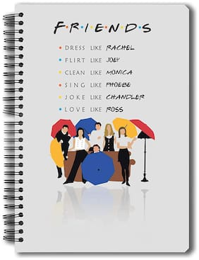 Mc Sid Razz Official Friends TV Series Umbrella - Notebook;Licensed By Warner Bros;USA