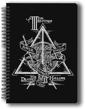 Mc Sid Razz Official Harry Potter - Triangle Notebook;Licensed By Warner Bros;USA