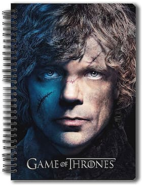 Mc Sidd Razz OfficialGame of Thrones - Tyrion - Notebook Gift Set Birthday Gift/Christmas Gift/Anniversary Gift Licensed by HBO (Home of Box Office);USA