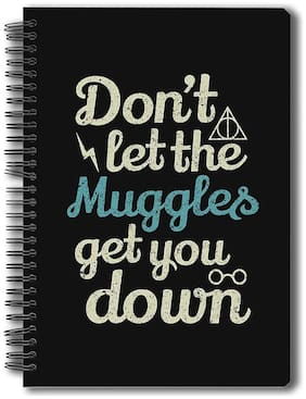 Mc Sidd Razz Official Harry Potter- Muggles Notebook Licensed By Warner Bros;USA