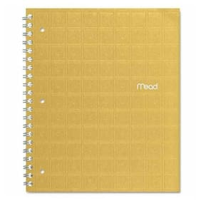 "Mead Recycled Notebooks - 80 Sheet - College Ruled - Letter 8.50"" X 11"" - 1 Each"