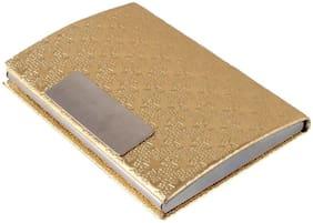 Meenamart Golden Card Holder Unisex