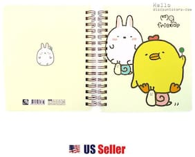 Milligram Friends College Ruled Notebook Note Pad 1pcs