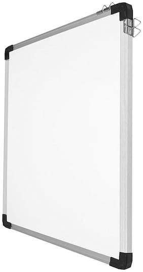 MMRJ Double Side (Marker And Chalk ) Board 1 ft X 1.5 ft White, Green board  (30 cm x 46 cm)
