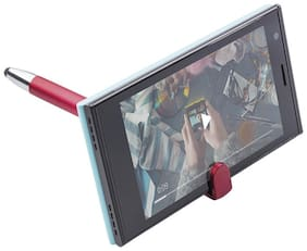 Mobile Stand with Ball Pen Universal 3 in 1 with Smartphone Stand Holder;Compatible for Android Mobile