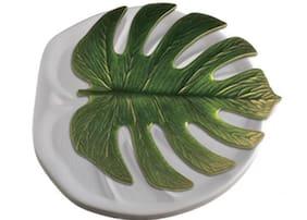 Monstera Leaf Glass Fusing Mold - Colour de Verre