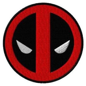 Motohog Unique Embroidered Sew on Patch (Deadpool)